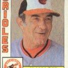 1984 Topps #21 Joe Altobelli MG