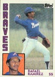 1984 Topps #234 Rafael Ramirez