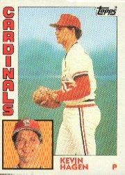1984 Topps #337 Kevin Hagen