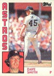 1984 Topps #361 Dave Smith