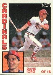 1984 Topps #416 Dane Iorg