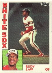 1984 Topps #47 Rudy Law