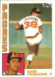 1984 Topps #481 Mark Thurmond