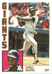 1984 Topps #494 Chili Davis