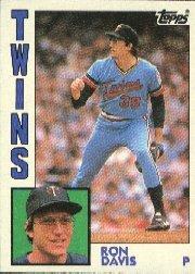 1984 Topps #519 Ron Davis