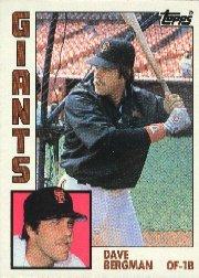 1984 Topps #522 Dave Bergman