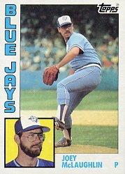 1984 Topps #556 Joey McLaughlin