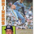 1984 Topps #63 Ed VandeBerg