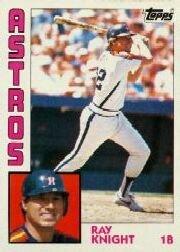 1984 Topps #660 Ray Knight