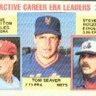 1984 Topps #708 Seaver/Carlton/Rogers