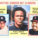 1984 Topps #711 Carew/Camp/Reggie