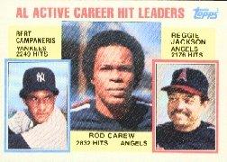 1984 Topps #711 Carew/Camp/Reggie