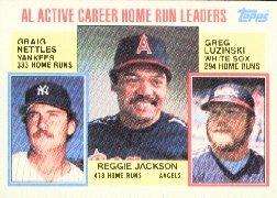 1984 Topps #712 Reggie/Nettles