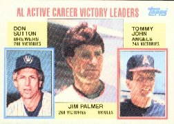1984 Topps #715 Palmer/Sutton/John
