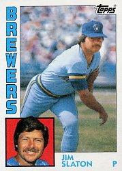1984 Topps #772 Jim Slaton