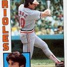 1984 Topps #773 Todd Cruz