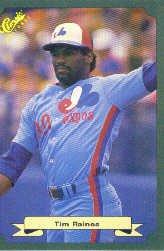 1987 Classic Game #29 Tim Raines