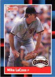 1988 Donruss #436 Mike LaCoss