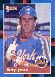 1988 Donruss #619 Barry Lyons SP