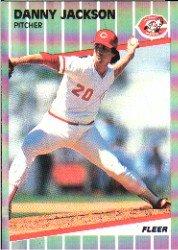 1989 Fleer #163 Danny Jackson