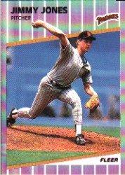 1989 Fleer #308 Jimmy Jones