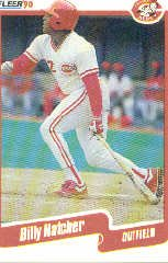 1990 Fleer Update #13 Billy Hatcher