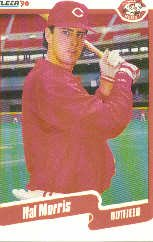 1990 Fleer Update #15 Hal Morris