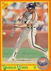 1990 Score Rookie/Traded #40T Franklin Stubbs