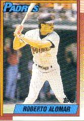 1990 Topps #517 Roberto Alomar