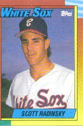 1990 Topps Traded #99T Scott Radinsky