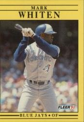 1991 Fleer #189 Mark Whiten