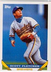 1993 Topps #97 Scott Fletcher