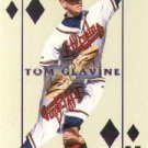 2000 Pacific Invincible Diamond Aces #3 Tom Glavine