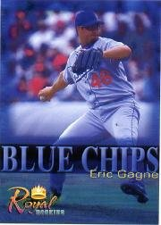 2000 Royal Rookies Futures Blue Chips #9 Eric Gagne