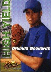 2001 Royal Rookies Futures High Yield #HY3 Orlando Woodards