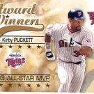 2002 Leaf Rookies and Stars #274 Kirby Puckett 93