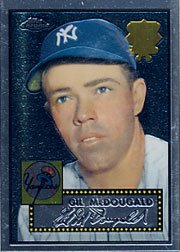 2002 Topps Chrome 1952 Reprints #52R8 Gil McDougald