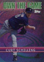 2002 Topps Own the Game #OG21 Curt Schilling