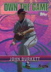2002 Topps Own the Game #OG29 John Burkett