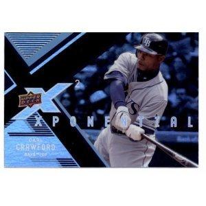 2008 Upper Deck X Xponential #CC Carl Crawford