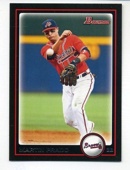2010 Bowman #18 Martin Prado
