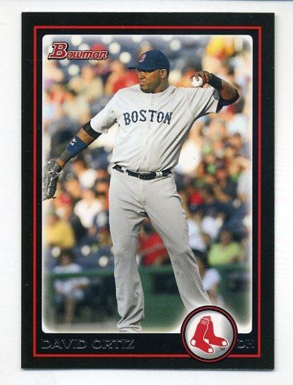 2010 Bowman #73 David Ortiz