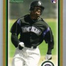 2010 Bowman Gold #204 Eric Young Jr
