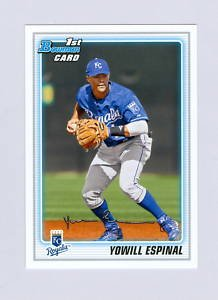 2010 Bowman Prospects #BP84 Yowill Espinal