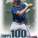 2010 Bowman Topps 100 Prospects #TP24 Freddie Freeman