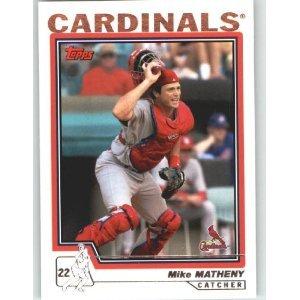 2004 Topps #6 Mike Matheny