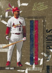 2004 Leather and Lumber #133 Albert Pujols