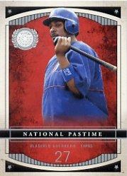 2003 Fleer Patchworks National Pastime #21NP Vladimir Guerrero