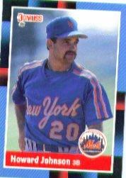 1988 Donruss #569 Howard Johnson