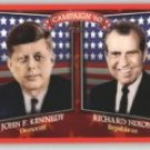 2008 Topps Historical Campaign Match-Ups #1960 John F. Kennedy